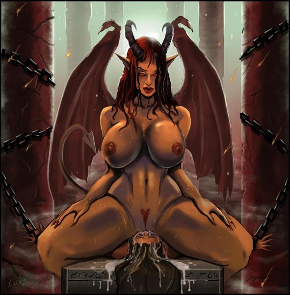 Смотреть порно с демонессами 11 фотография