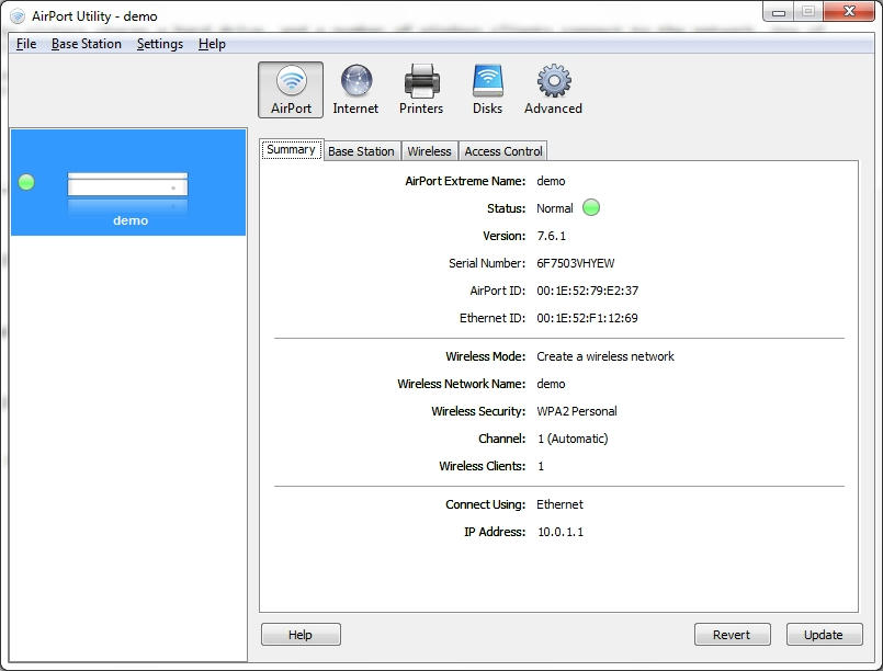 How to share Windows Internet connection AND Airport USB