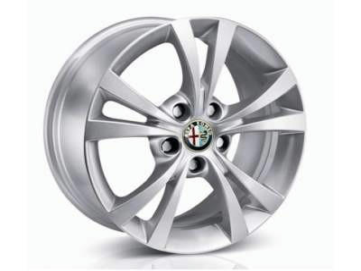 1 Alloy Wheels Center Caps Alfa Romeo Giulietta 159 Brera Spider Badge Genuine