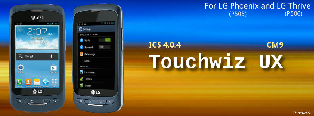 ROM][CM9][4 0 4]Touchwiz UX [0 1 0 - (7/14/12)] - Android