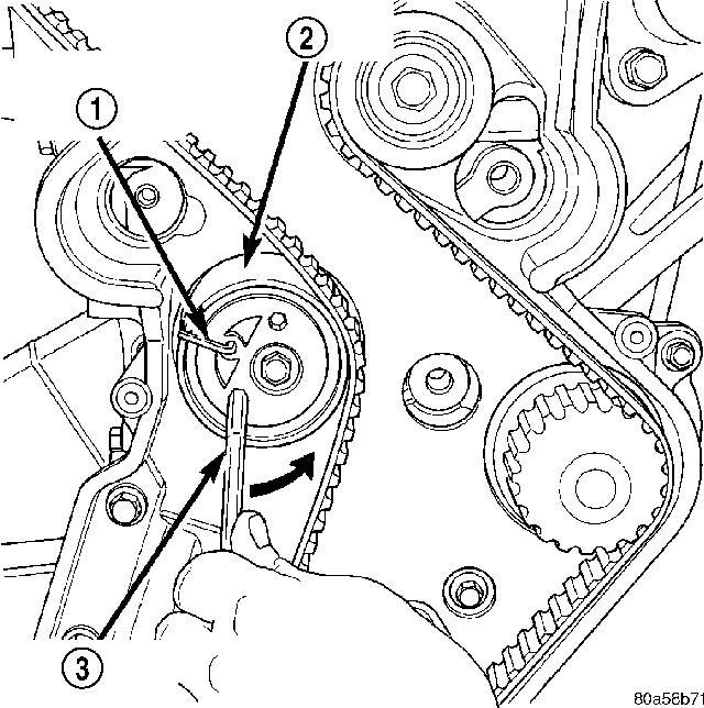 2006 pt cruiser alternator wiring diagram 2002 pt cruiser: timing belt..water pump..step ...