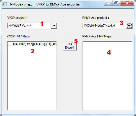 H-Mode7 maps in RMVX Ace