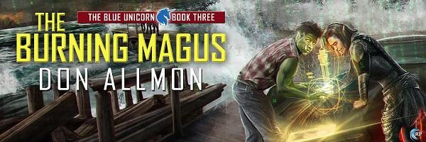 Don Allmon - The Burning Magus Banner