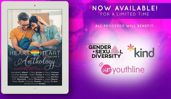 Heart2Heart Anthology, Vol. 3 Charity Available Now promo