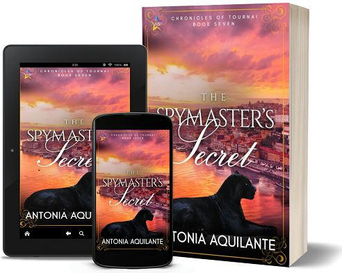 Antonia Aquilante - The Spymaster's Secret 3d Promo