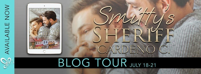 Cardeno C. - Smitty's Sheriff Blog Tour Banner