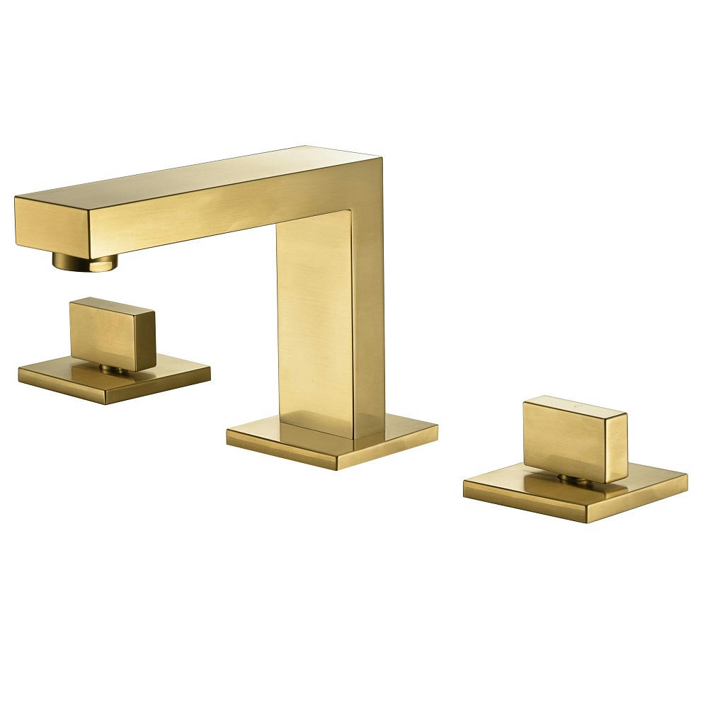 """AB75 1322MAG 8"""" Widespread Lavatory Faucet, Matte Gold"""