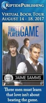 Jaime Samms - Three Player Game Badge