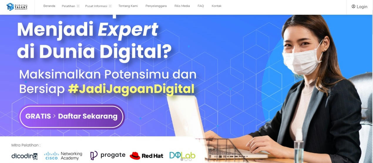 Pelatihan Digital Talent Scholarship 2021 - Kominfo