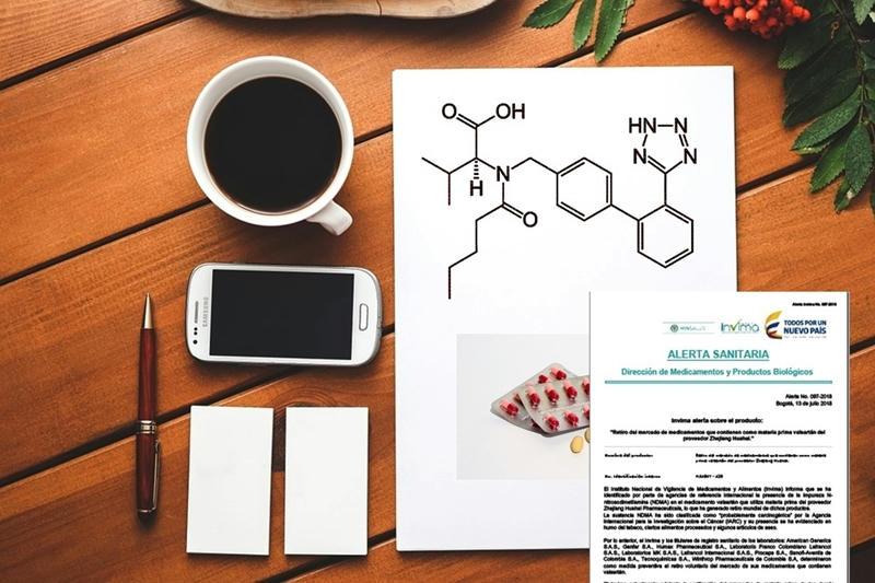 Alerta mundial por medicamentos para la hipertensión que contengan Valsartán, que sería cancerígeno