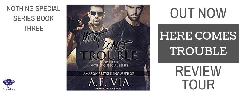 A.E. Via - Here Comes Trouble RTBANNER-66