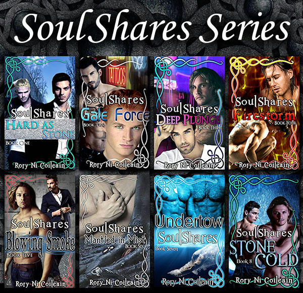 Rory Ni Coileain - SoulShare series banner
