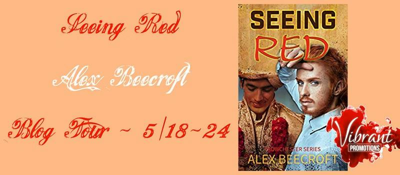 Alex Beecroft - Seeing Red Tour Banner