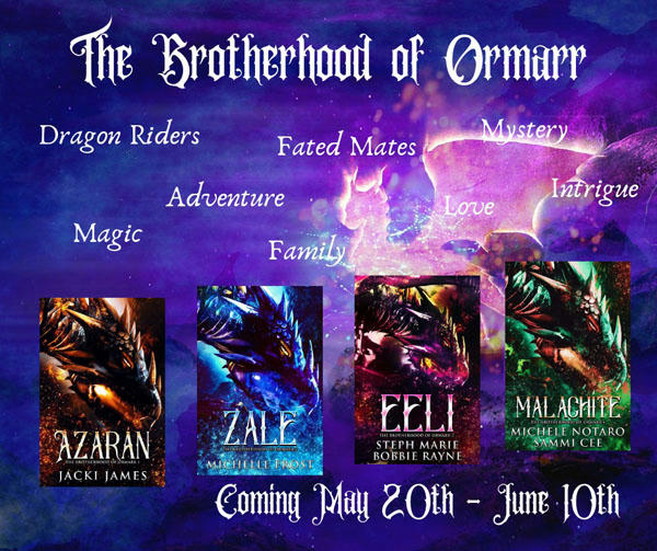 Michelle Frost - Brotherhood of Oemarr SERIES BANNER 2