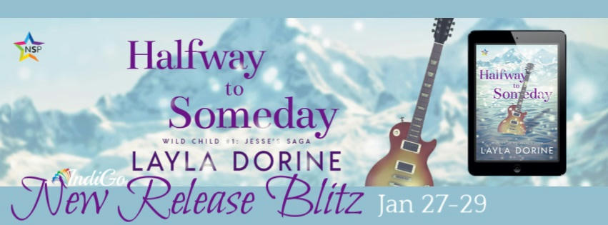 Layla Dorine - Halfway to Someday RB Banner