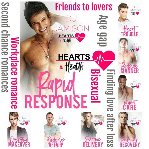 D.J. Jamison - Hearts & Health series banner