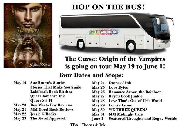 Kethric Wilcox - The Curse tour-schedule-promo