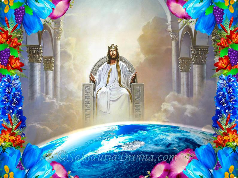 Cristo Rey sentado en su Trono. Justo Juez.