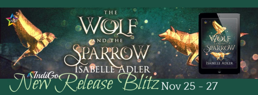 Isabelle Adler - The Wolf and the Sparrow Blitz Banner