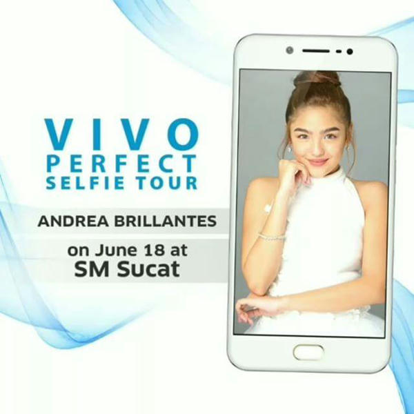 Andrea Brillantes @ SM Sucat For Vivo 5S Launching
