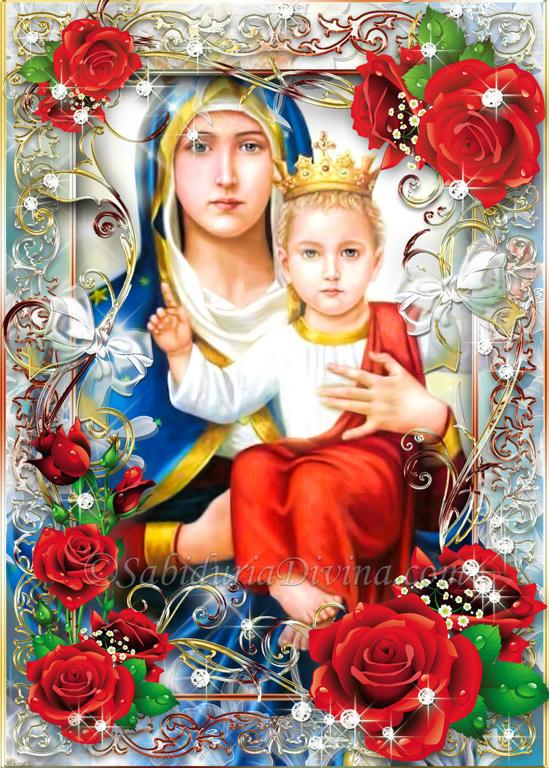 Virgen con niño Jesus