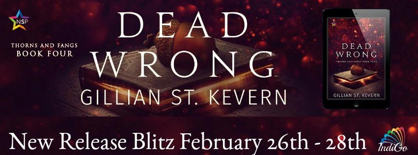 Gillian St. Kevern - Dead Wrong Blitz Banner