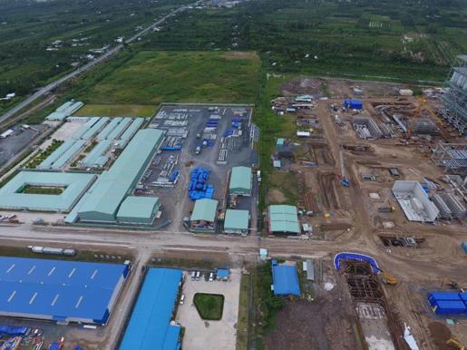 Cận cảnh Dự án Nhà máy Nhiệt điện Sông Hậu 1