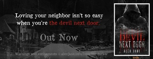 Alex Jane - Devil Next Door Banner 2