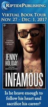Jenny Holiday - Infamous TourBadge