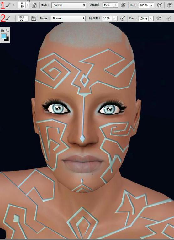 [Apprenti] Effet futuriste - Créer des lignes sur la peau X4adji2x3oc1zzb6g