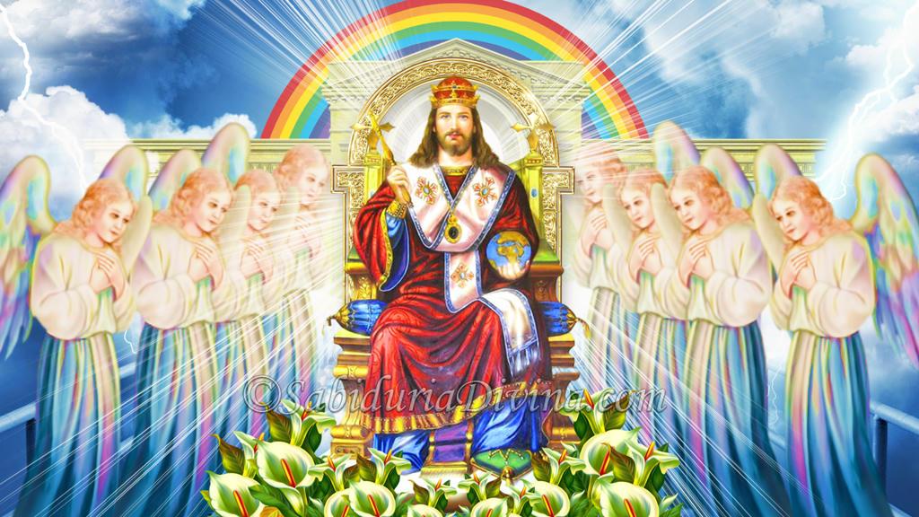 Jesus Resucitado. La Resurreccion. Cristo Rey