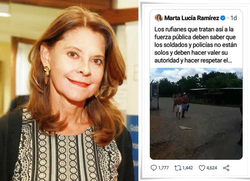 Martha Lucia Ramírez habla de menor asesinado en La Lizama en Barrancabermeja