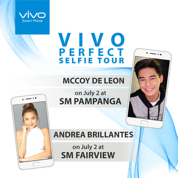 Andrea Brillantes For #VivoPerfectSelfie Tour