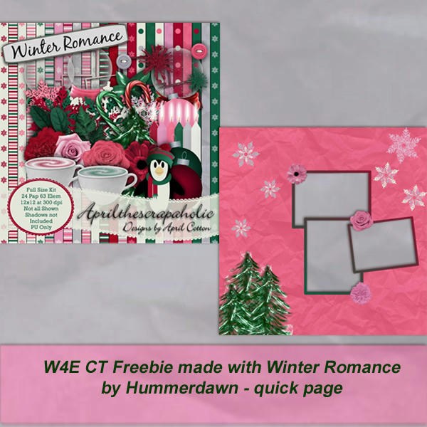 Winter Romance CT freebie QP from Dawn
