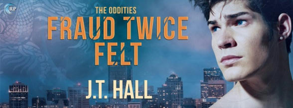 J.T. Hall - Fraud Twice Felt Banner