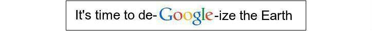 De-Google-ize the Earth banner