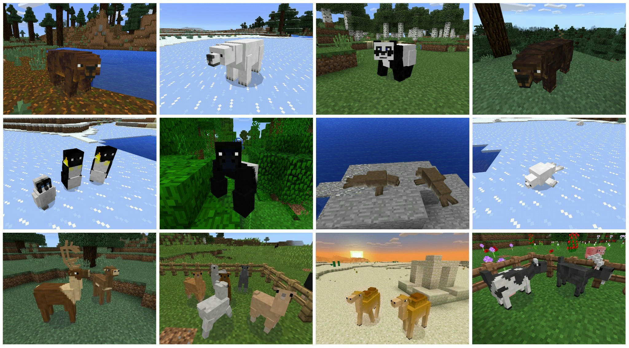 How Do Animals Eat Their Food Minecraft