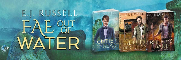 E.J. Russell - Fae Out of Water Banner