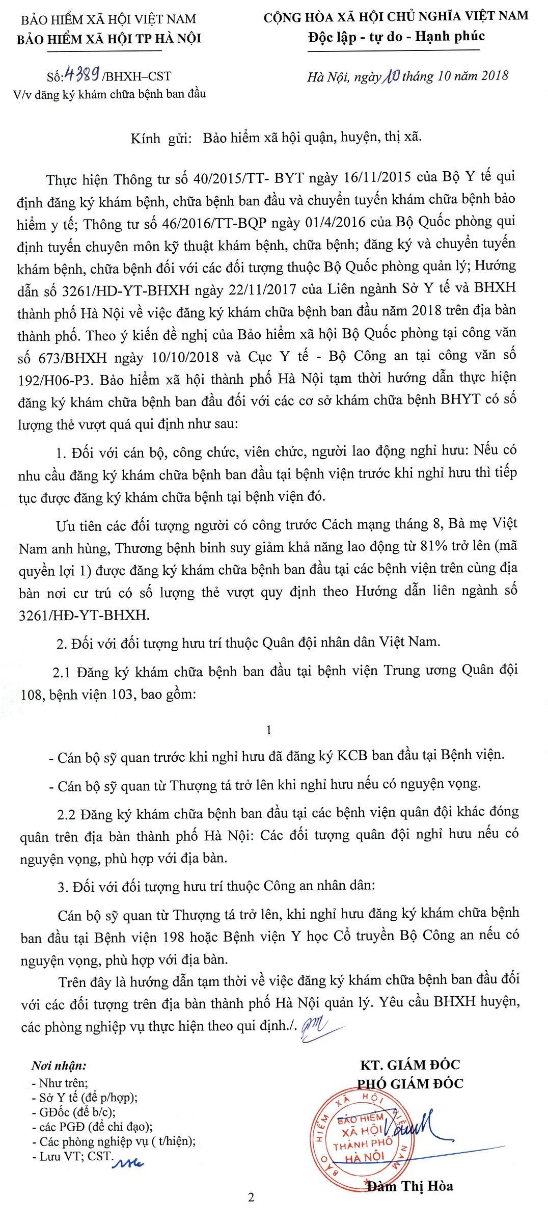 Doi tuong KCB tai 108 103 198 YHCT BCA