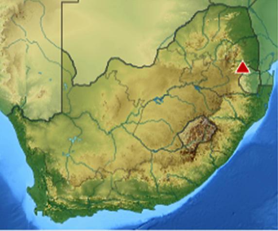 Hallan materia orgánica extraterrestre en roca sedimentaria en Sudáfrica