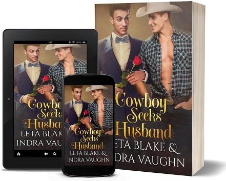 Leta Blake & Indra Vaughn - Cowboy Seeks Husband 3d Promo