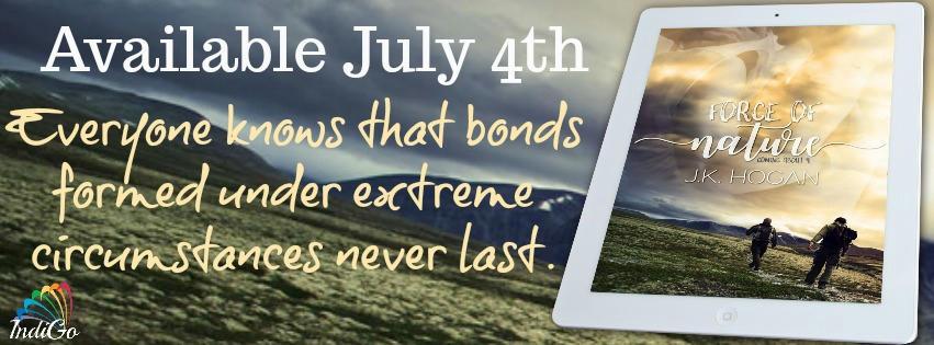 J.K. Hogan - Force of Nature Release Blast Banner 2