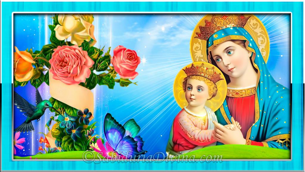 Maria con niño Jesus