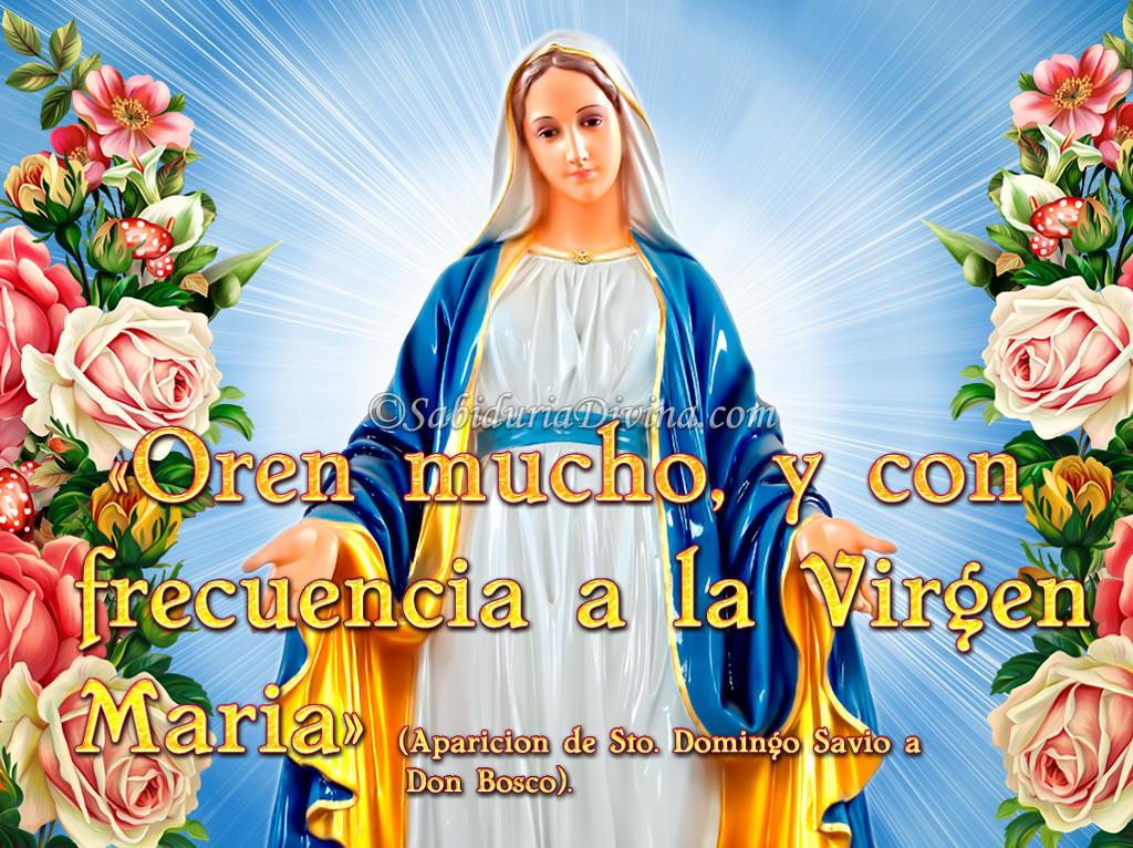 Virgen Maria de oro