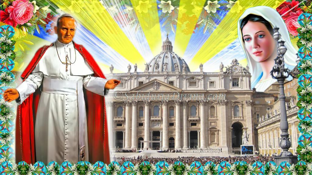 Papa Juan Pablo II. Vaticano.