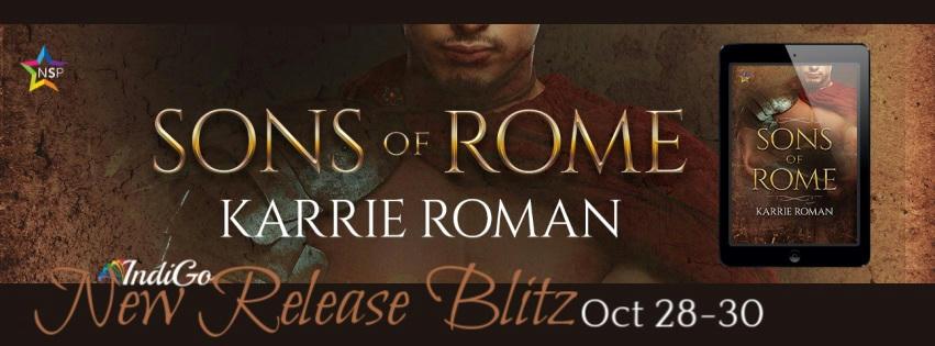 Karrie Roman - Sons of Rome RB Banner