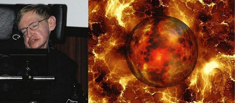 Stephen Hawking y su ominosa profecia del fin del mundo