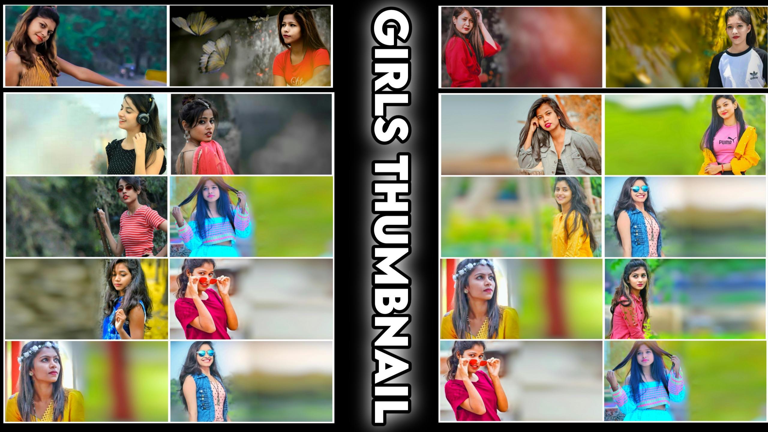 Girls Thumbnail 2021 By Dj DevrajKasya