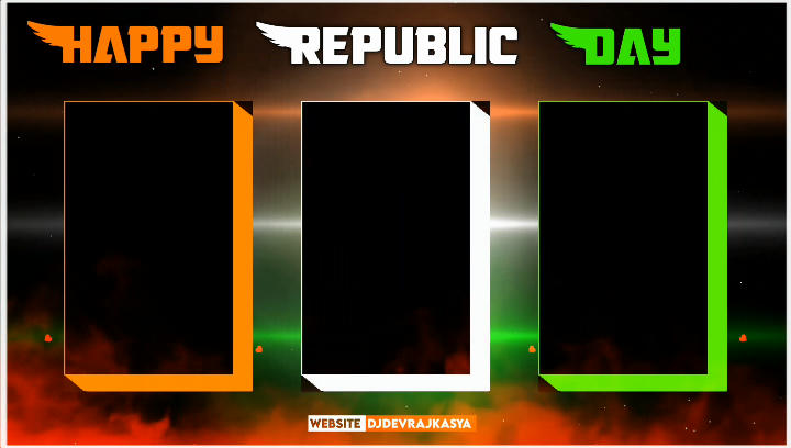 Trending Republic Day 26 January Avee player template download link