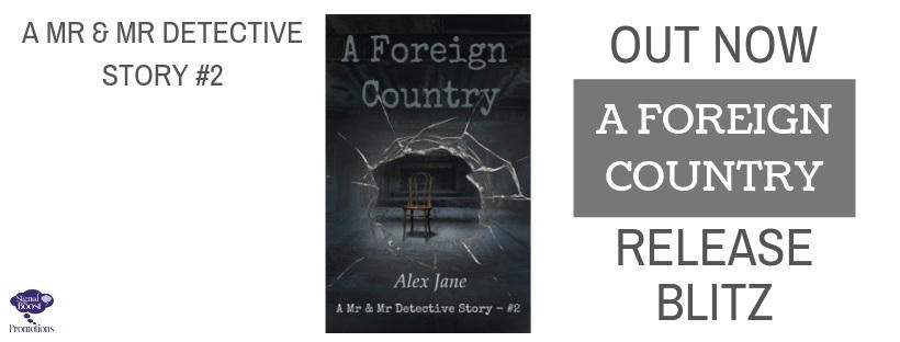 Alex Jane - A Foreign Country RBGRAPHIC